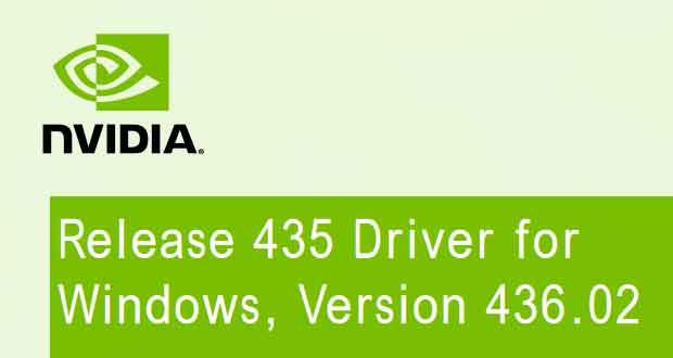 GeForce 436 02 WHQL Game Ready, Nvidia corrige un bug d