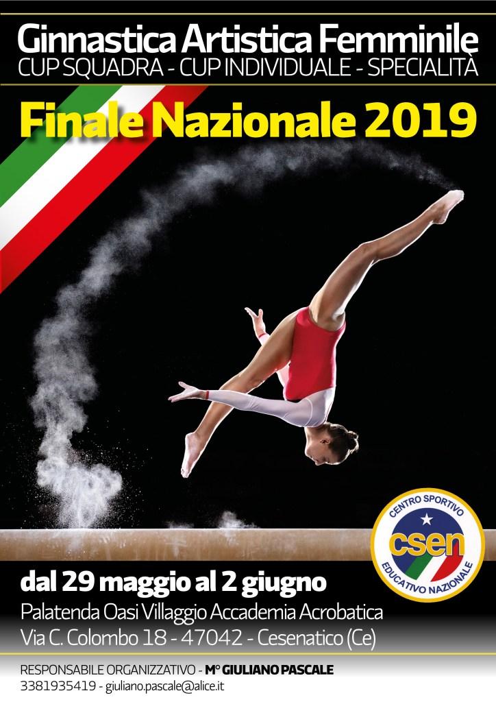 CSEN Finale 2019 Ginnastica Artistica
