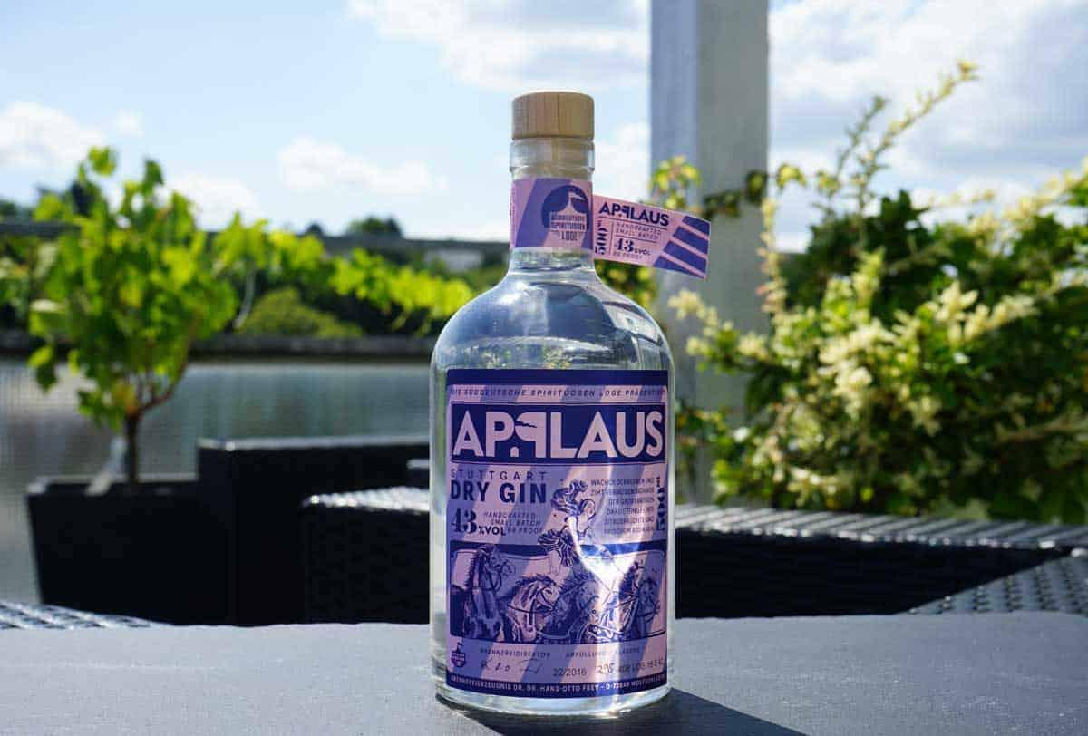 Testbericht Applaus Stuttgart Dry Gin Ginnatic Dein Gin Blog