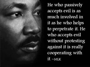 Dr King on action, love & forgiveness