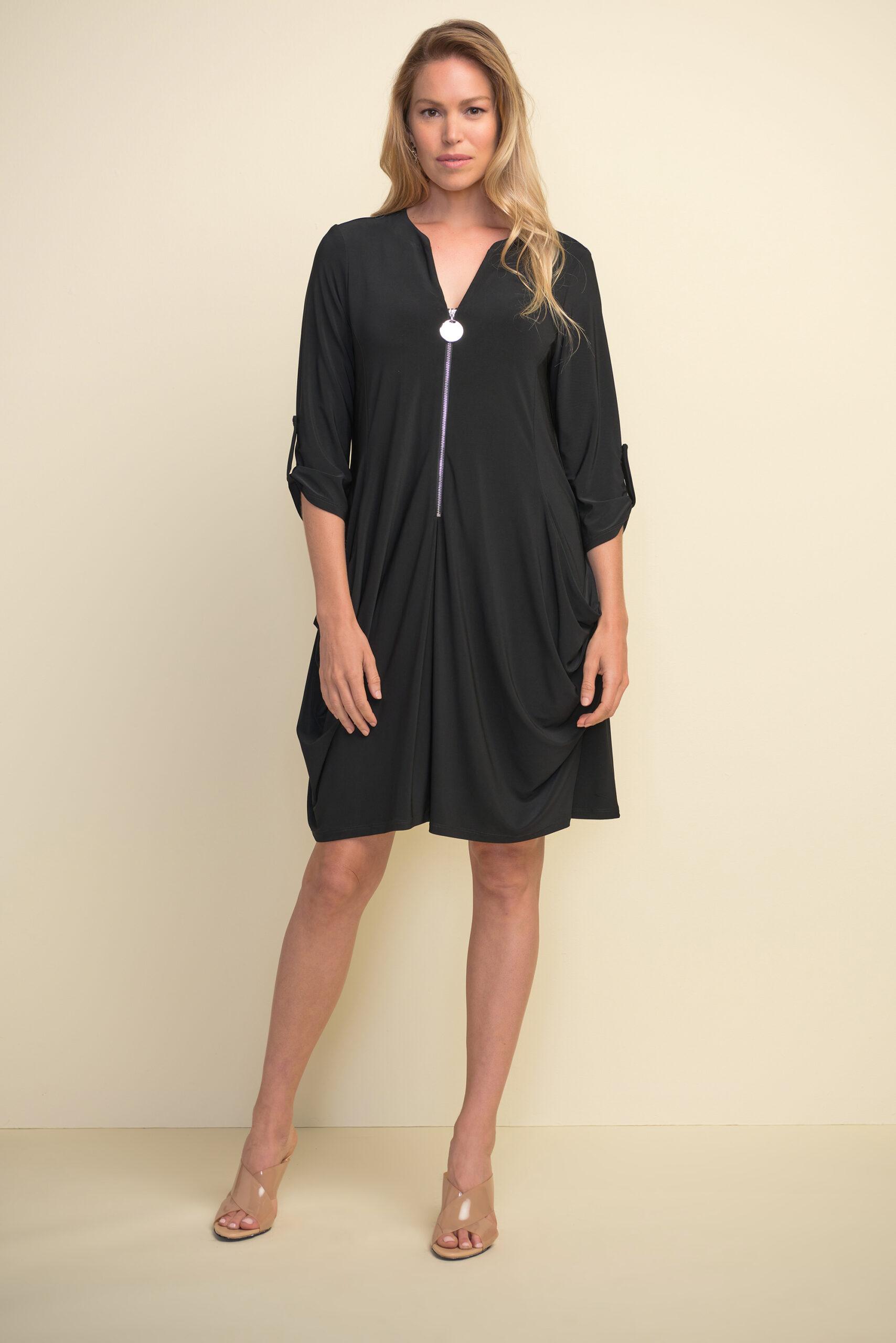 Joseph Ribkoff black dress style #211238