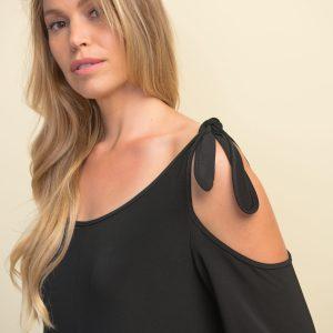 Joseph Ribkoff black jumpsuit style #211122
