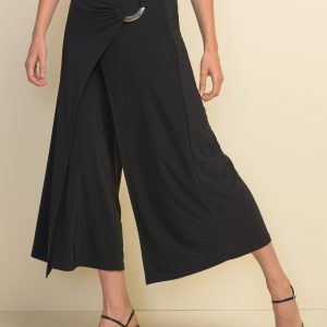 Joseph Ribkoff wide leg black pant style #211134