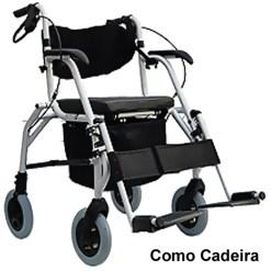 Cadeira de Rodas de Alumínio - SL 808 Comfort
