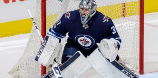 Winnipeg Jets' goaltender Connor Hellebuyck turned in an incredible 2019-20 season