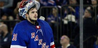 New York Rangers goaltender Igor Shesterkin