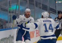 Steven Stamkos snipes in his return