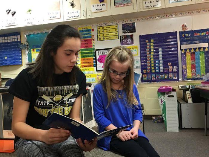 Eighth Grade Reading Buddies