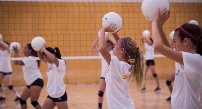 Summer Volleyball Camp Kindergarten-12th Grade