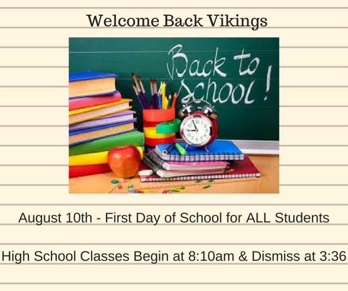 Welcome Back Vikings