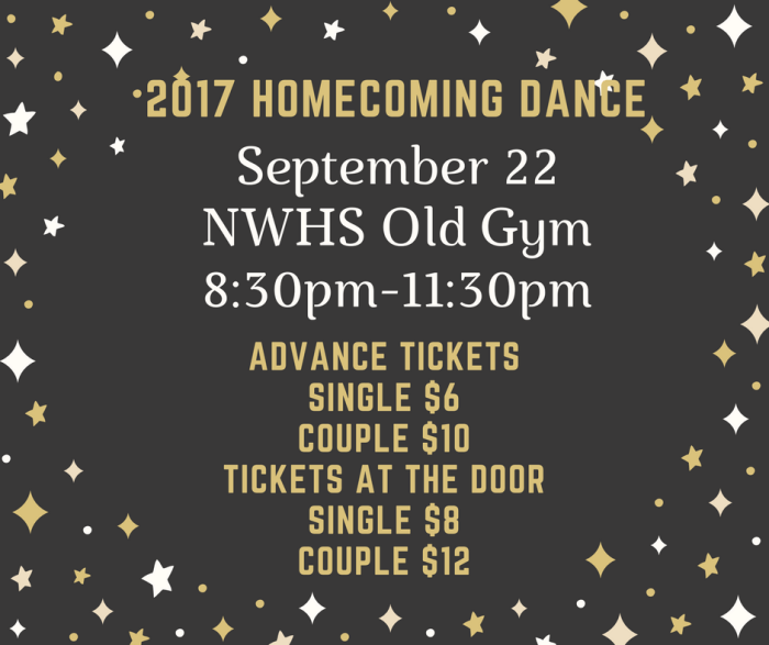 NWHS 2017 Homecoming