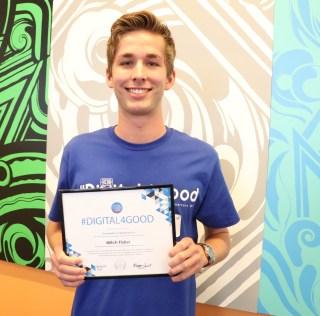 Northwest Alumnus recognized at Twitter Headquarters