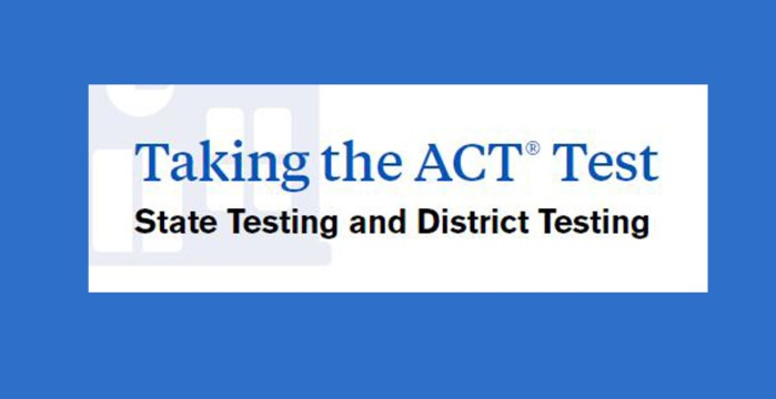 Taking the ACT Test