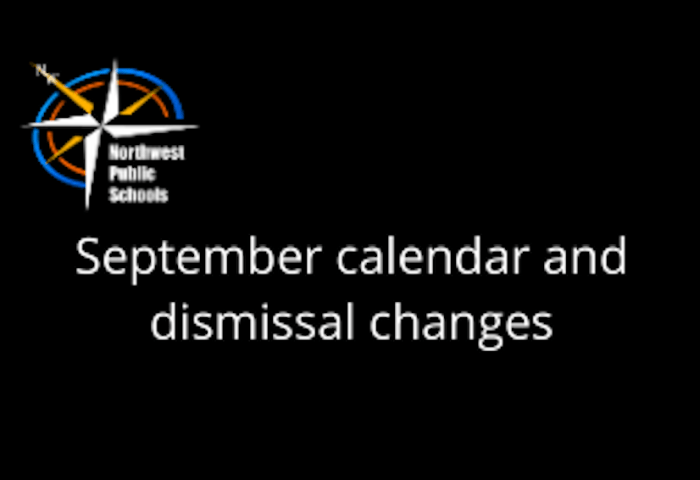 District Calendar Changes for September 21-25