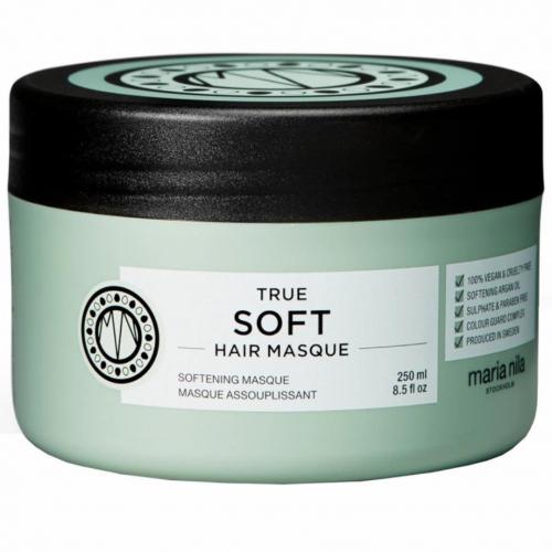 Maria Nila True Soft Masque 250ml i gruppen Hårvård / Hårinpackning / Torrt hår hos ginos.se (mn-pal-001-0019)