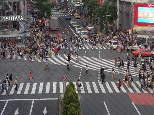 渋谷スクランブル1