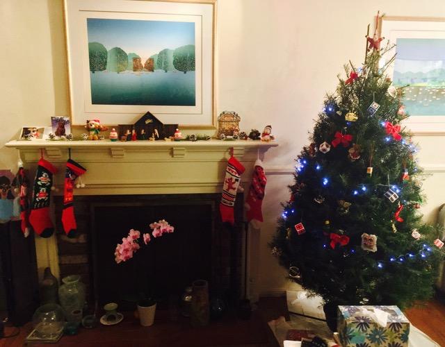 我が家もネイティビティとクリスマスの準備が整いました