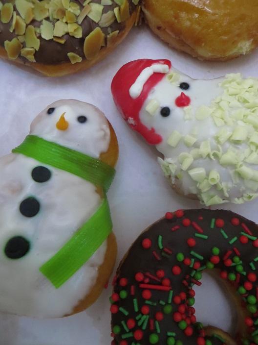 クリスマスのドーナッツ