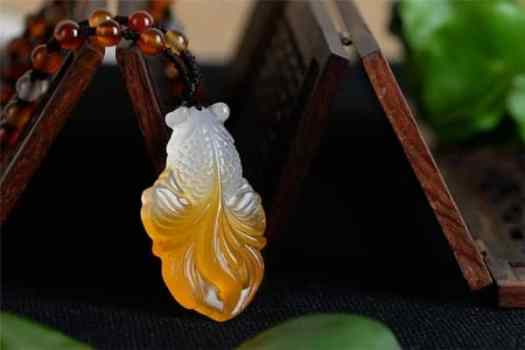 jade fish pendant meaning