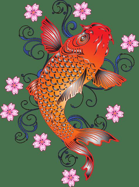 Koi Fish MythsTransforming Into A Dragon