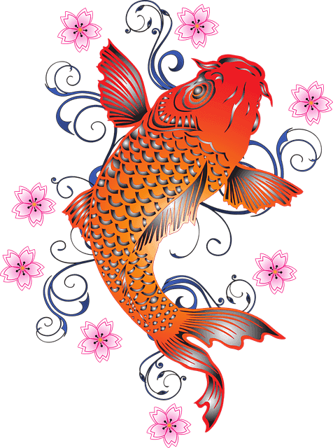 Koi Fish MythsTransforming Into A Dragon
