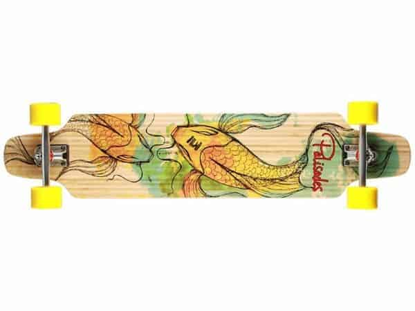 koi fish longboard
