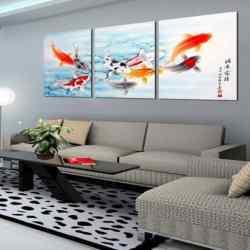 koi fish painting feng shui