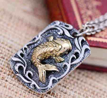 benefits of wearing fish pendant