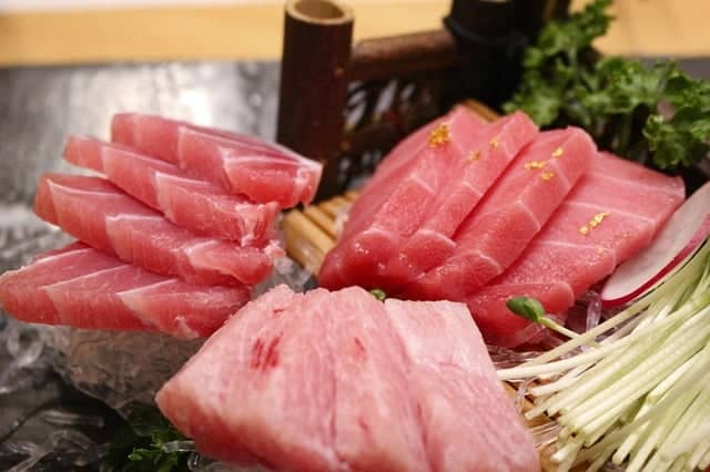 Tuna Products sashimi