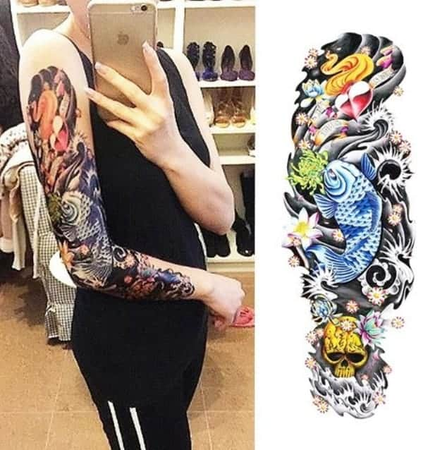db5e6153b koi fish tattoo forearm Japanese Forearm Tattoo, Japanese Dragon Tattoos,  Japanese Tattoo Art, Japanese Sleeve Tattoos, Japanese Tattoo Designs, ...