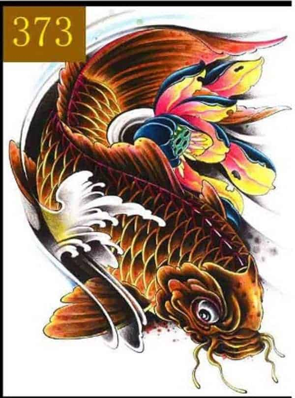 502ab6d300365 Awe-inspiring Koi Fish Tattoo Meaning Color, Direction, you need to know
