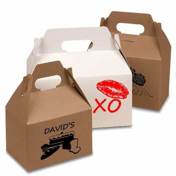 koi printed boxes for chinese foods