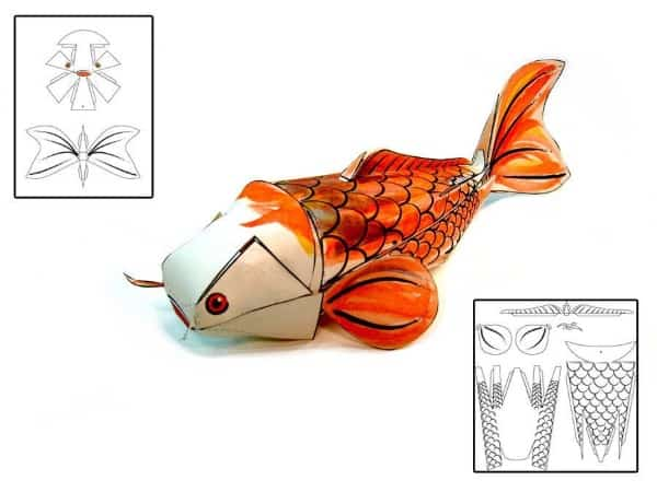 koi fish craft