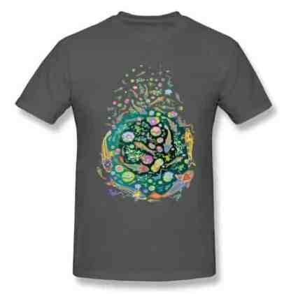 Koi fish shirt doodle art design grey color for sale