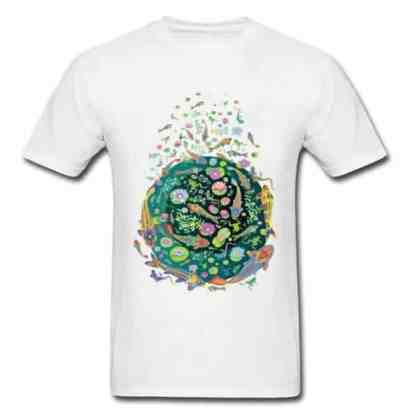Koi fish shirt doodle art design white for sale