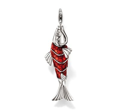 articulated koi fish pendant for sale