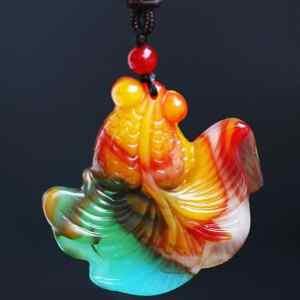 golden fish pendant for sale