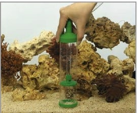 Drain the water and clean the gravel how to do water change on saltwater aquarium