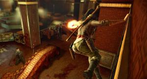 Sei attaccato con le unghie all'intonaco di una parete marcia, mentre tenti di eliminare un boss della Yakuza? Culo!