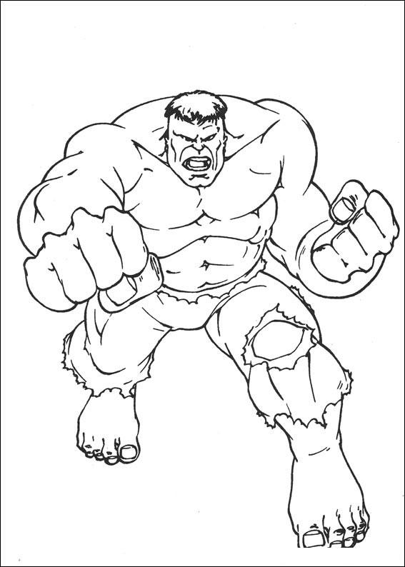 Hulk da Colorare 5