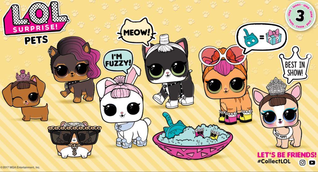 lol surprise pets collezione completa