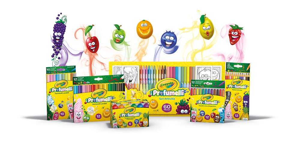 profumelli Crayola colori