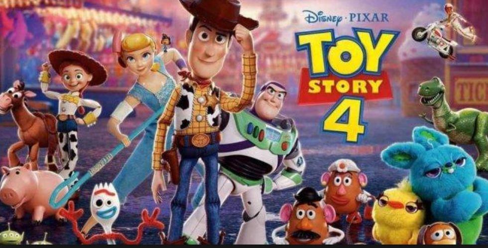 Locandina Toy Story 4
