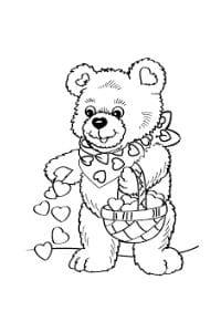 Disegni Di San Valentino Da Stampare E Colorare Per Bambini Gbr