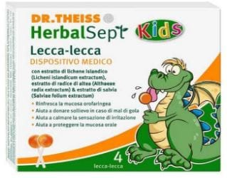 lecca lecca rimedio mal di gola per bambini prezzo e dove acquistare