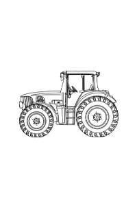 trattori da colorare e stampare disegni per bambini
