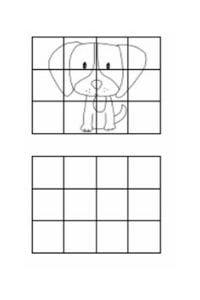 disegni da copiare cagnolino