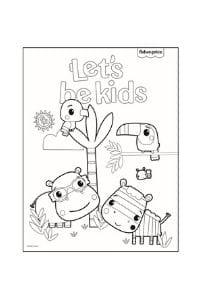 disegni da colorare per bambini 4 anni animali
