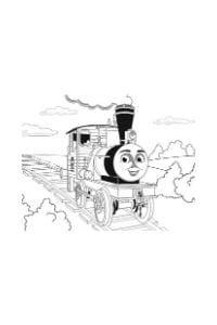 disegni da colorare per bambini 5 anni trenino thomas