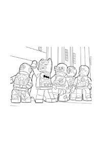 disegni da colorare per bambini di 9 anni lego batman